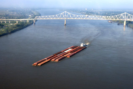 Accidents in Lake Charles, LA can have many causes - whether a car accident, medical malpractice case, or an accident related to maritime commerce on the Mississippi River or the Gulf. For example, boats, tugs, and other vessels on the Mississippi, like the one here, can be invovled in collisions where injuries and property damage result. Call a Lake Charles personal injury lawyer today to represent you in your claims.